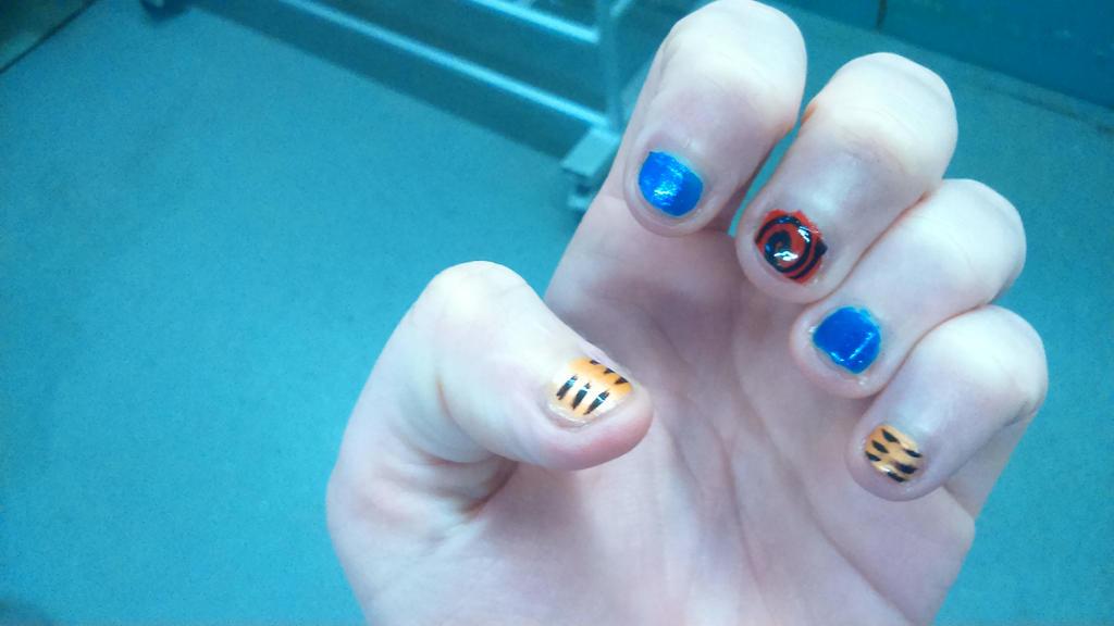 naruto nail art by kakashi-is-cute on DeviantArt