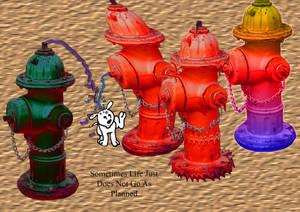 Hydrant-postcard