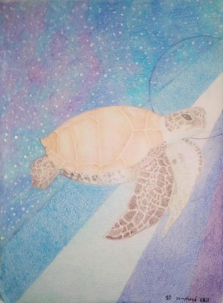 Sea Turtle by Jaeyelle
