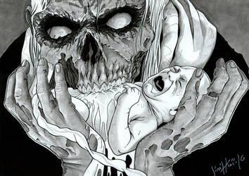 Zombie baby by Jimmy-Rogon