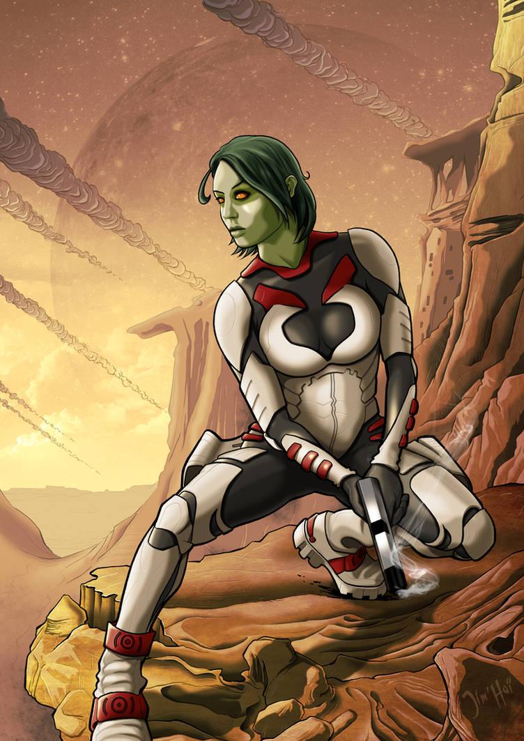 Gamora by Jimmy-Rogon