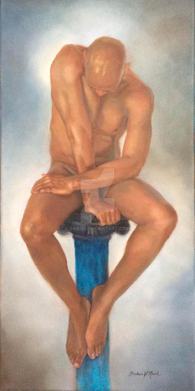 Perch II (oil) by Babsa