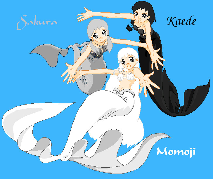 Mermaid Melody Mermaid Oc's By Kittypoptart On DeviantArt