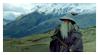 Gandalf Stamp by AlvStamp