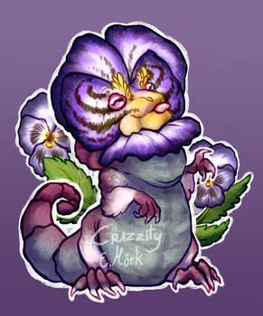 Pansy Lizard