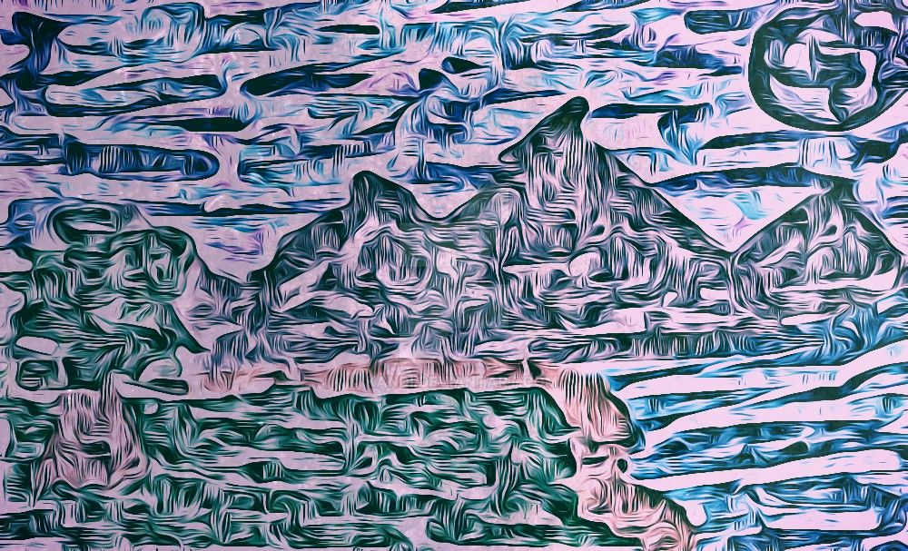 Mountain Art by kandi