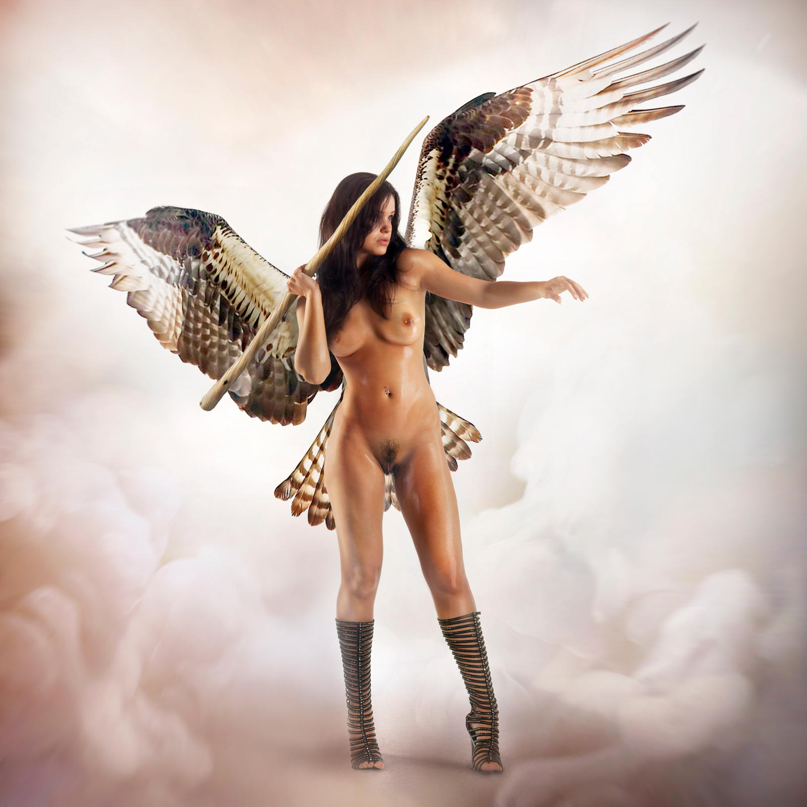Attack in boots Angel version by FueledbypartII