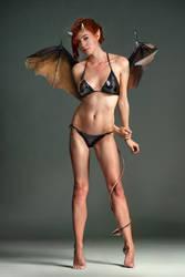 Rose as a cute demoness bikini ed ^^ By Vandart by FueledbypartII
