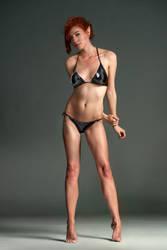 Rose as Elf extreme make up bikini  By Vandart v2 by FueledbypartII