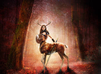 The Forest Goddess based on Branka_Johnlockian IV by FueledbypartII