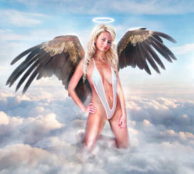 The Angel 3 Swimsuit by FueledbypartII