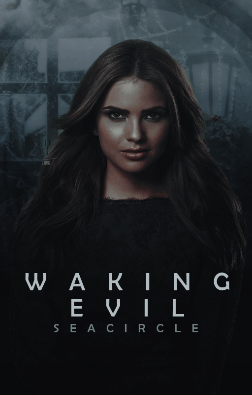 Waking Evil |Wattpad Cover by Queenmorgan