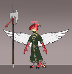 Baxter - Lieutenant Warrior Angel by Zalcoti