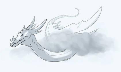 Cloudy Storm Dragon