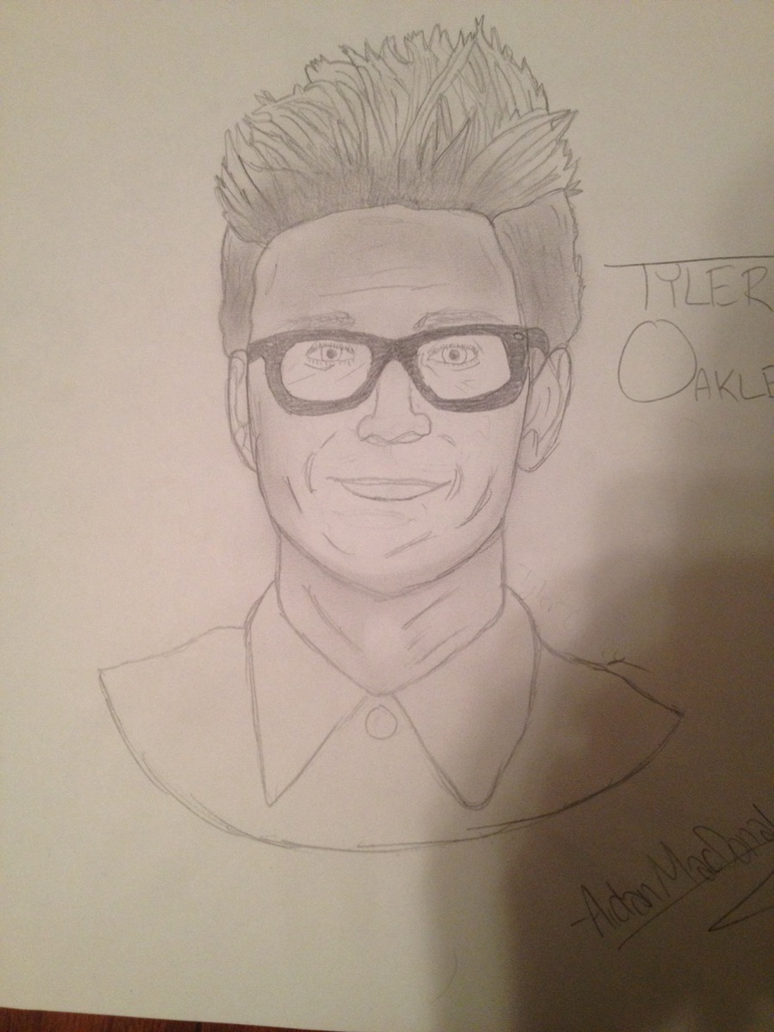 tyler oakley drawing by aidathyst on deviantart