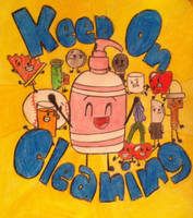 Inanimate Insanity: Keep On Cleaning by crazy-bftdii-lover