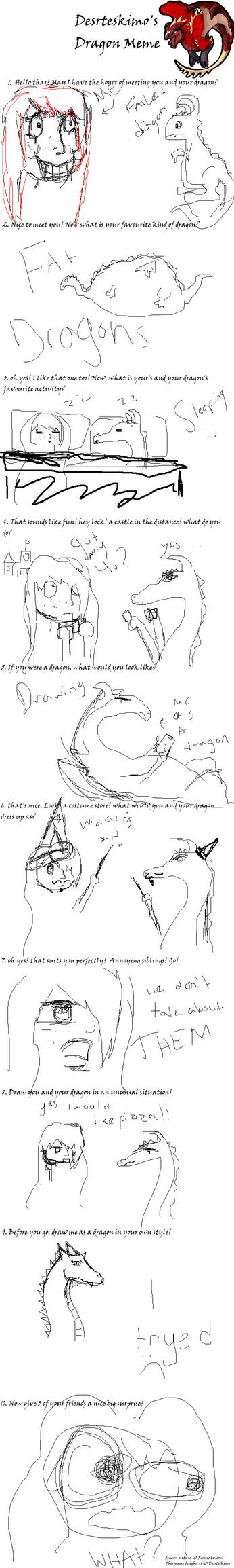 Dragon Meme by You-Got-A-Problem