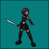 Rika - Battle Stance by PixelKiwi