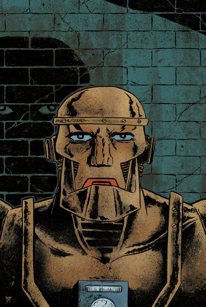 Doom Patrol - Cliff Steele by DiegoTripodi