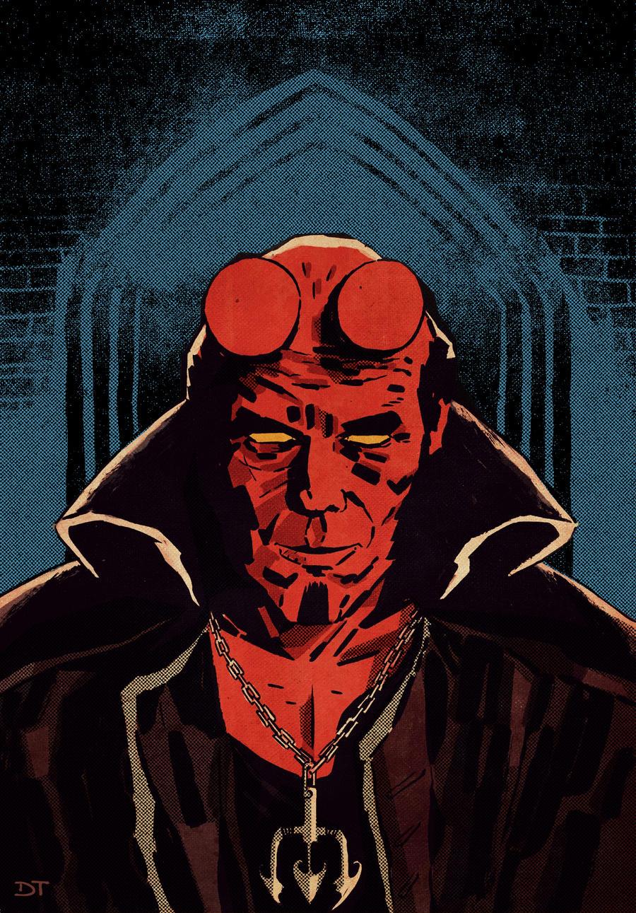 Hellboy by DiegoTripodi