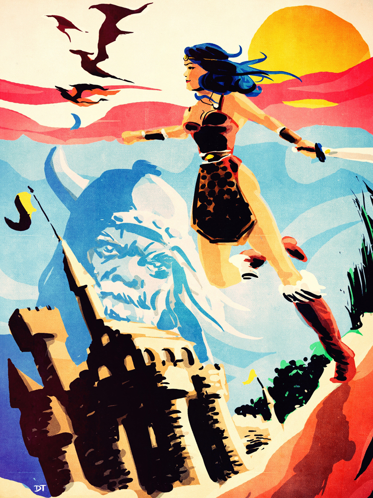 The Princess' journey by DiegoTripodi