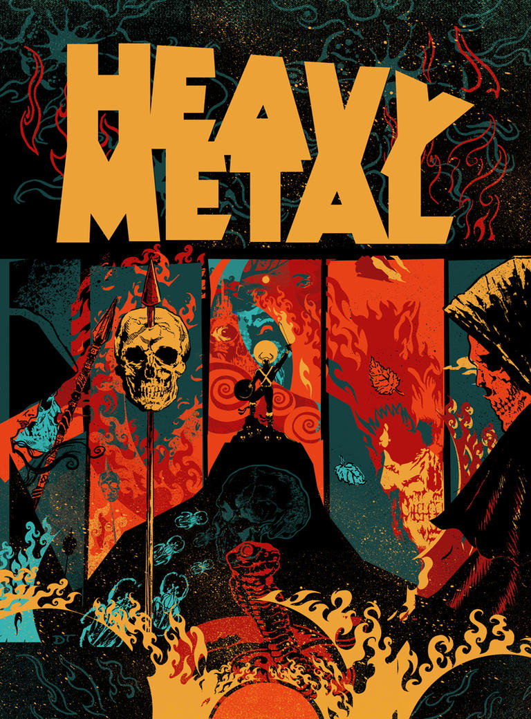 Heavy Metal Magazine Cover Contest By DiegoTripodi On