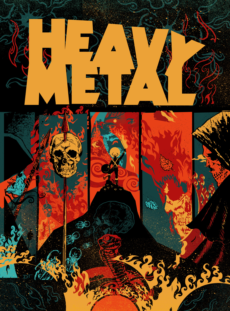 Heavy Metal Magazine Cover Contest By DiegoTripodi