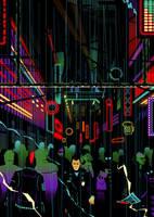 Neon forest by DiegoTripodi
