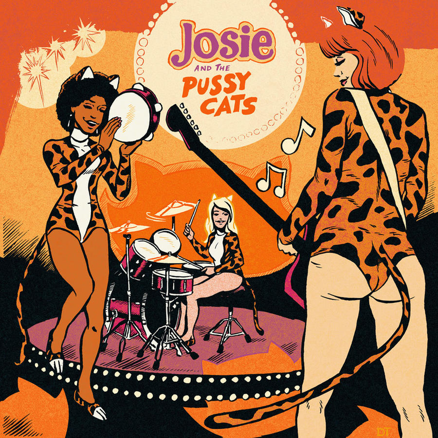 Josie and the Pussycats by DiegoTripodi
