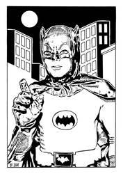 Batman - Adam West by DiegoTripodi
