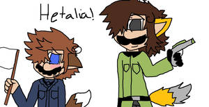 Wolfie Italy and L Germany XD