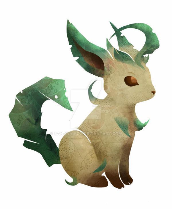 Leafeon by banana-fox