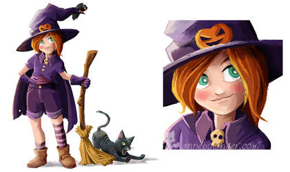 Witch by banana-fox