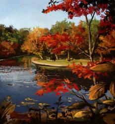 Autumn colours by banana-fox