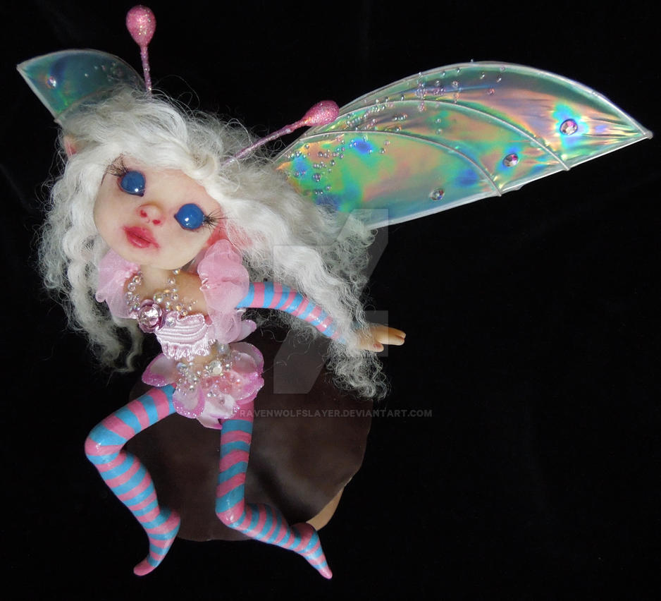 OOAK Fairy by Ravenwolfslayer