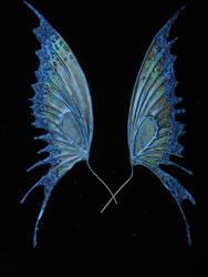 Fairy Wings blue