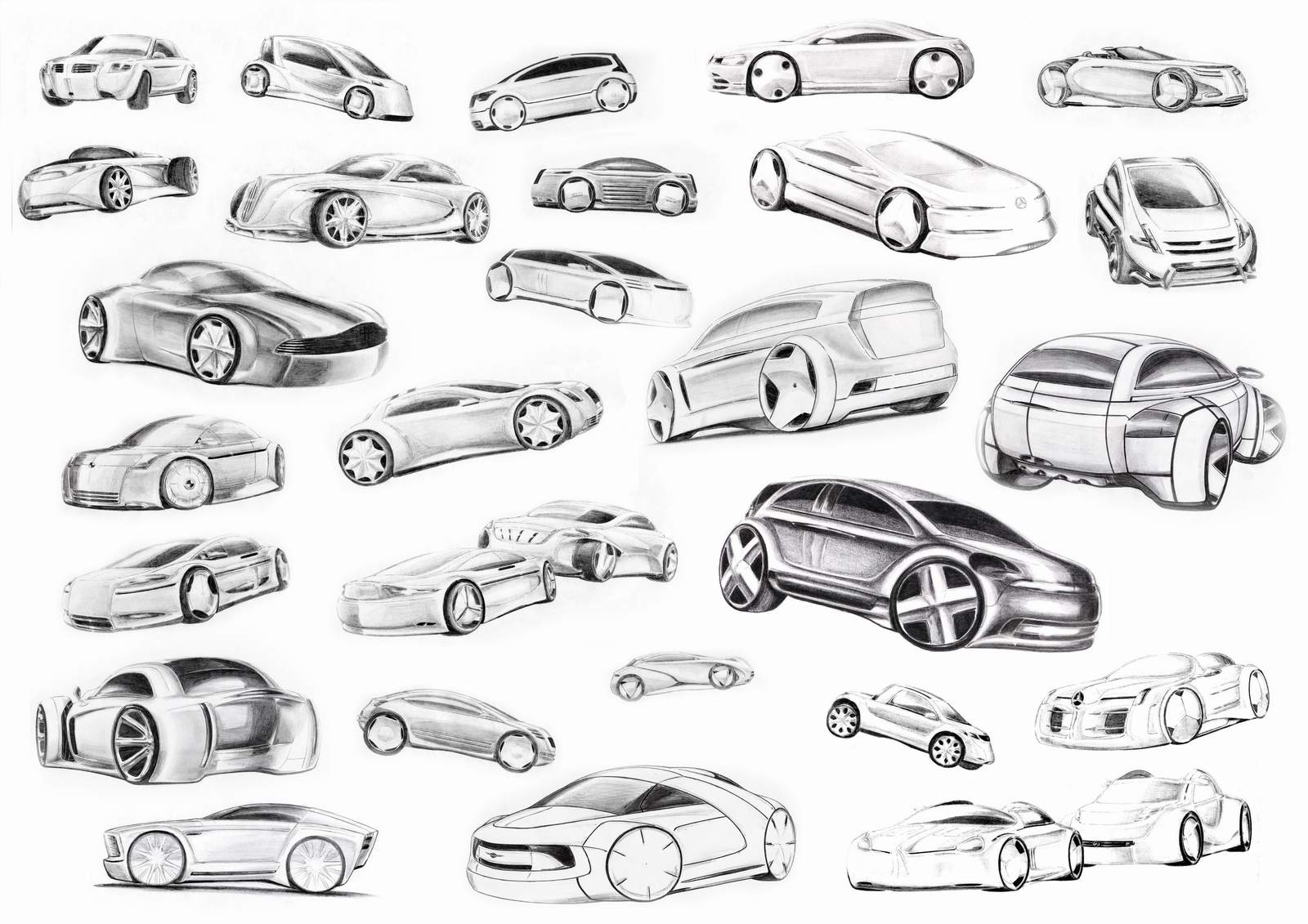car sketches by spoon334 on deviantart