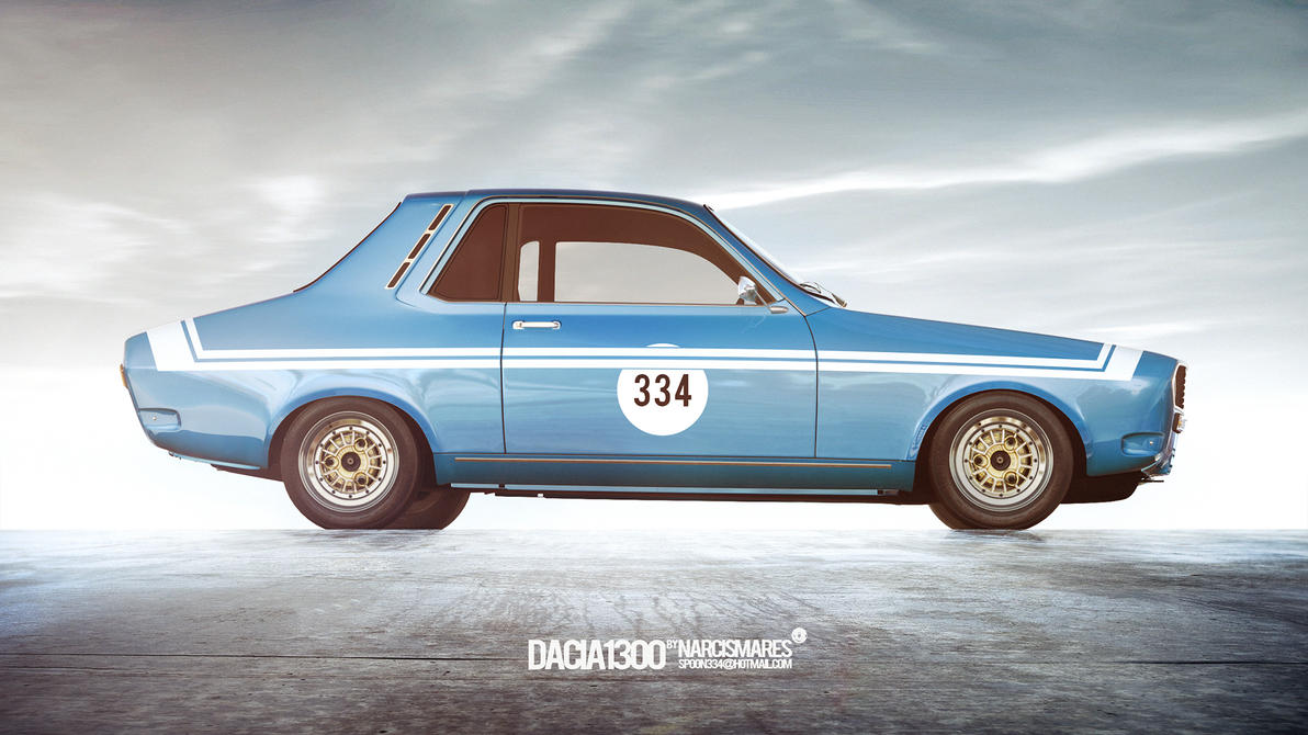 Dacia1300 (2015) by spoon334
