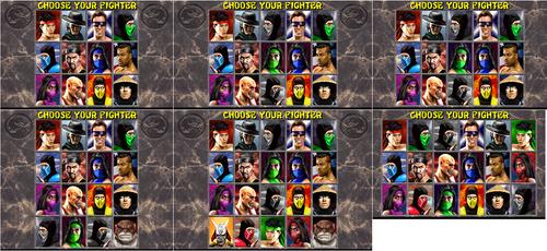 Mk2 Select Screens by PalettePix