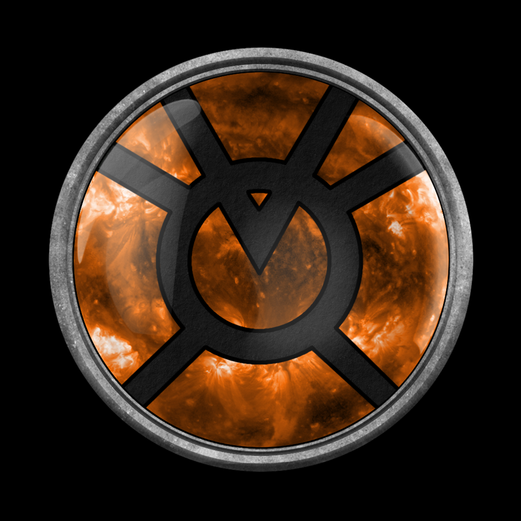Orange lantern ring - Avarice by PalettePix on DeviantArt