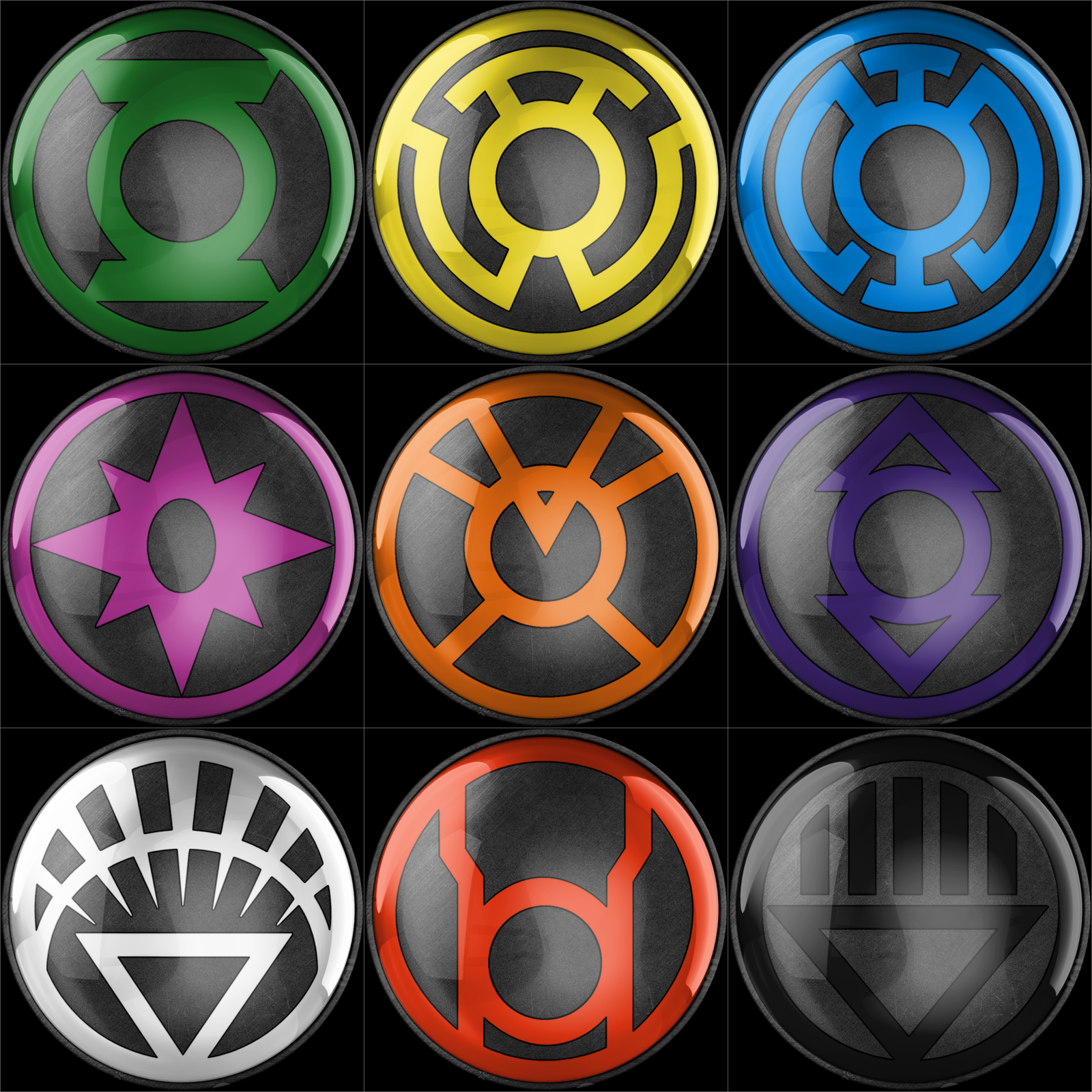 All The Different Lantern Rings