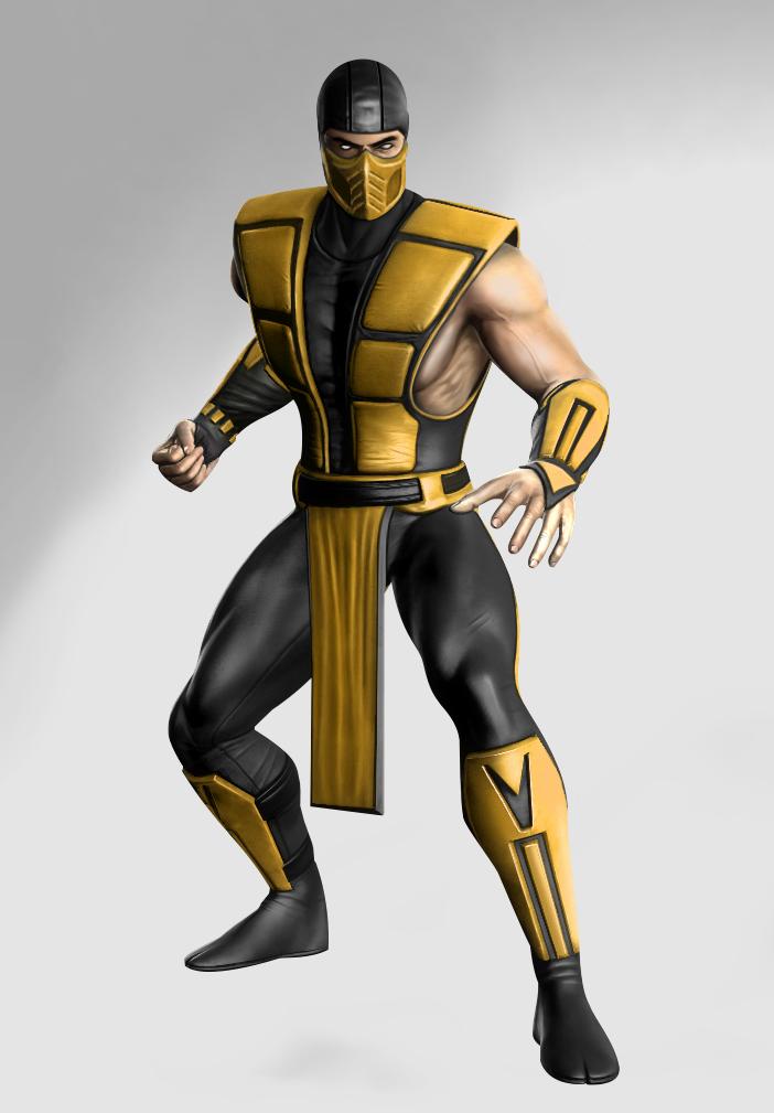 mortal kombat 9 scorpion classic costume wwwimgkidcom