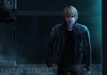 The Vamp in the Alley by Sanborg