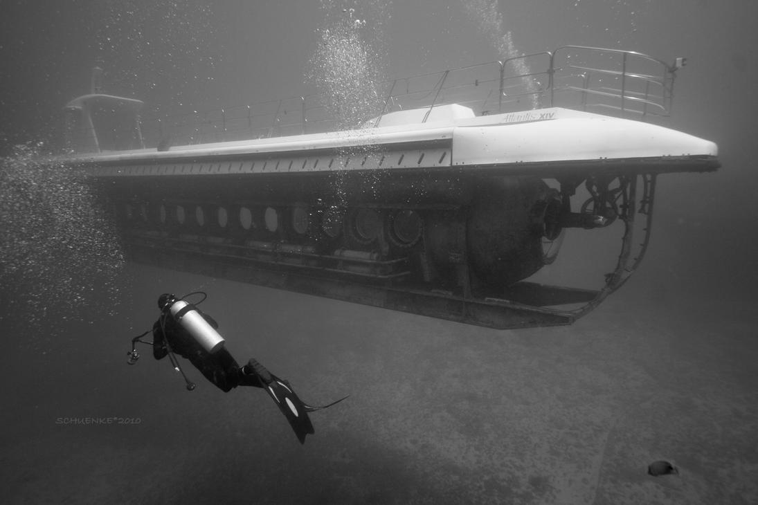 YO-257 Wreck-Atlantis Sub by PacIslander2