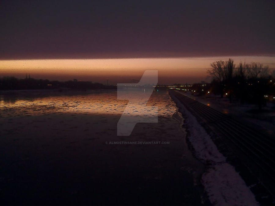 Dusk in Warsaw by AlmostInsane