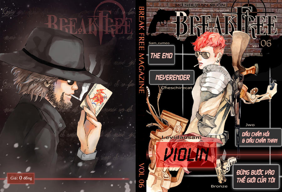 BreakFree Vol6 Coverpage by GreatUFO