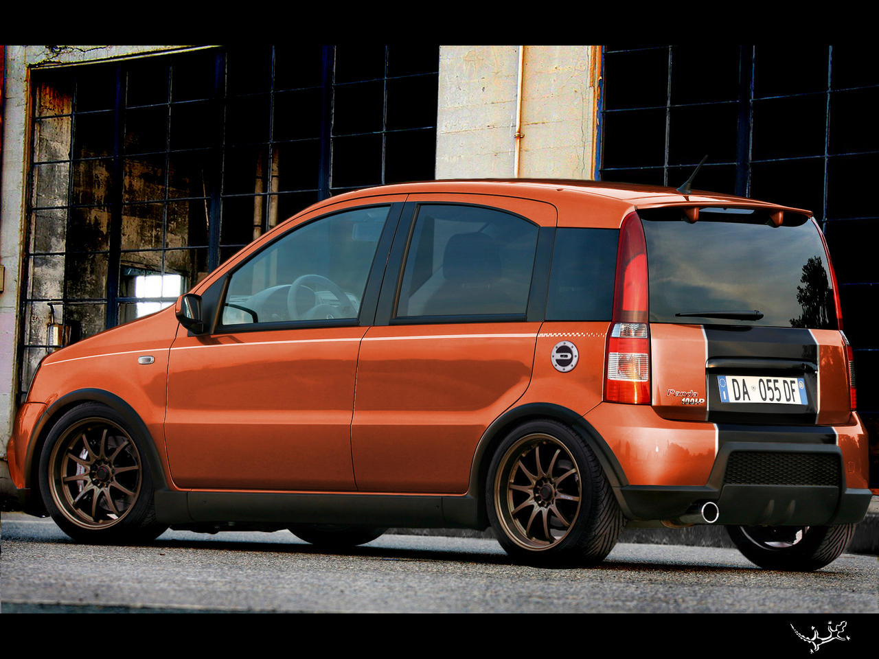 fiat panda 100hp by kuplung on deviantart. Black Bedroom Furniture Sets. Home Design Ideas