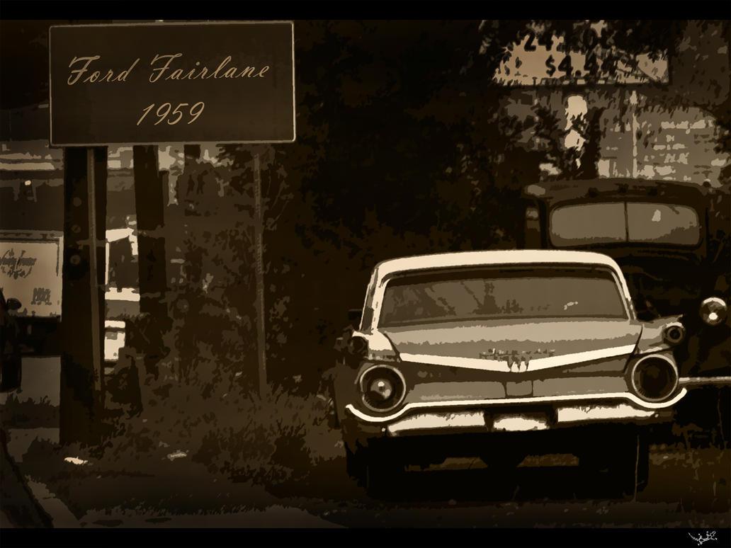 Exonomi Car' Carat Caratan: 1957 Ford Fairlane Wallpaper