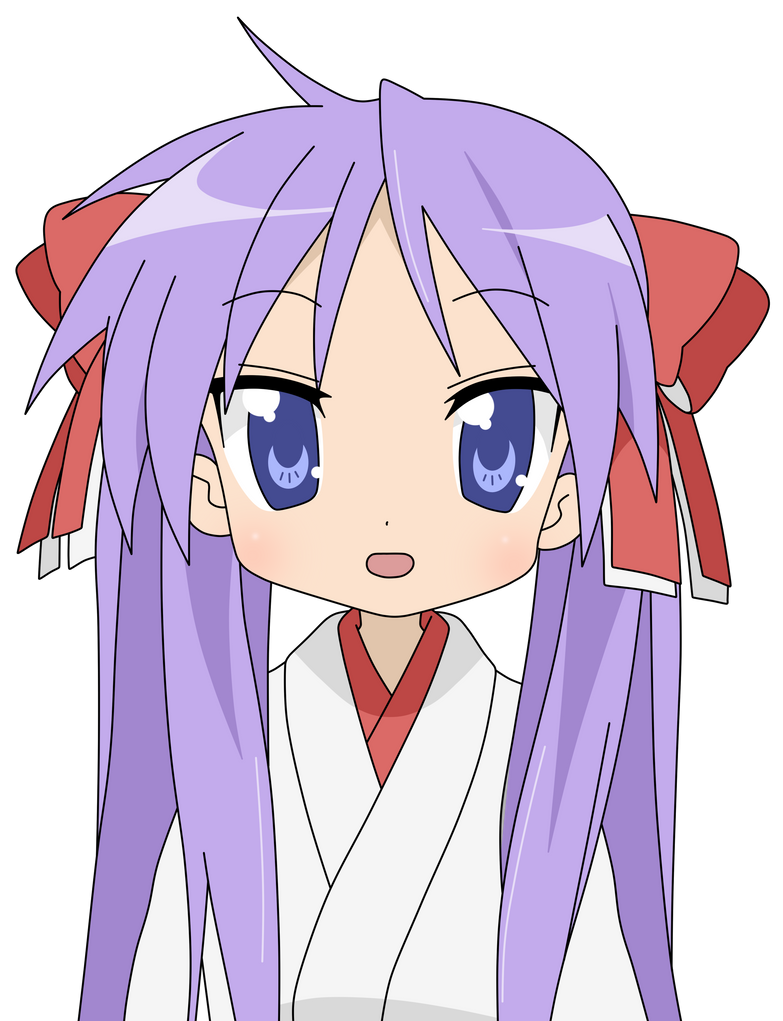 LUCKY STAR | Kagami Hiiragi by Shivakou on DeviantArt