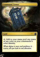 Command Tower - TARDIS by BlackWingStudio